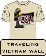 Traveling Vietnam Wall Commemorative T-Shirt