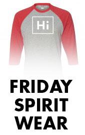 Browse Friday Spirit Wear